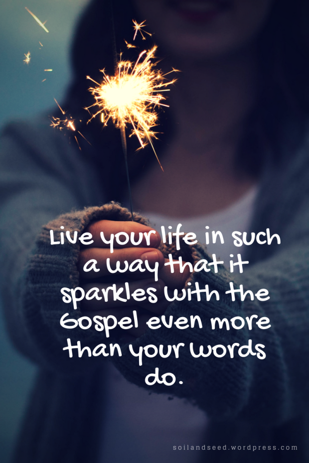 Sparkle with the Gospel