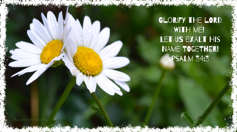 Glorify the Lord with Me!