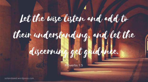 Listening and Wisdom